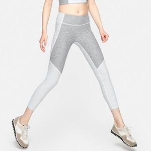 Outdoor Voices 3/4 Two Tone Leggings